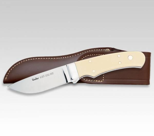 LINDER Jagdmesser mit Griffschalen aus Micarta, Klinge 9 cm, Abb. ähnlich