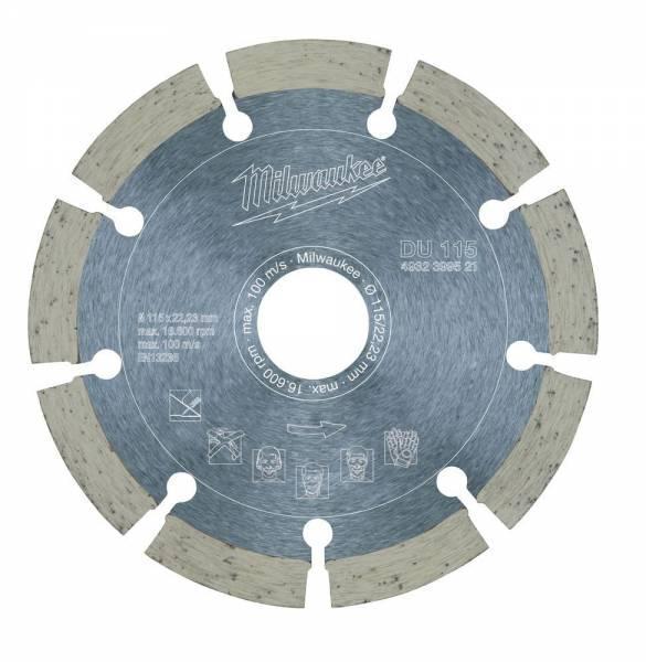 Diamanttrennscheibe DU ø 115 mm