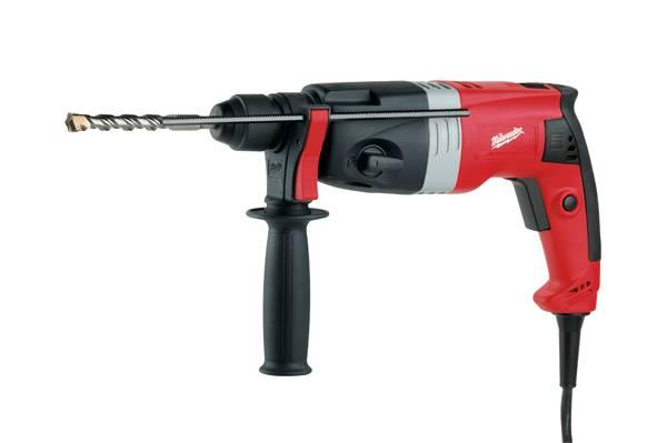 Bohrhammer PFH 24 E von Milwaukee ideal für Dübel- und Durchgangslöcher
