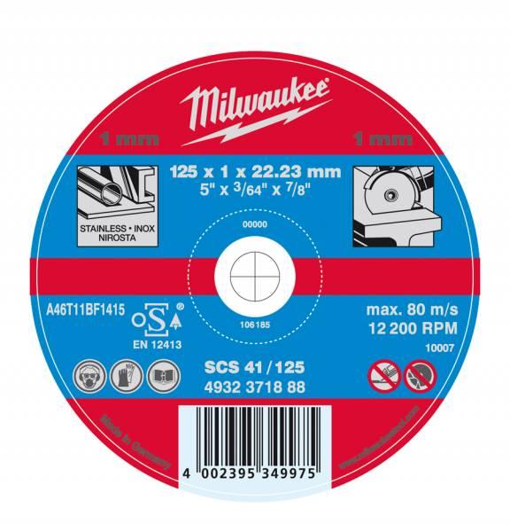 Milwaukee Trennscheibe für Metalltrennschleifer, Abb. ähnlich