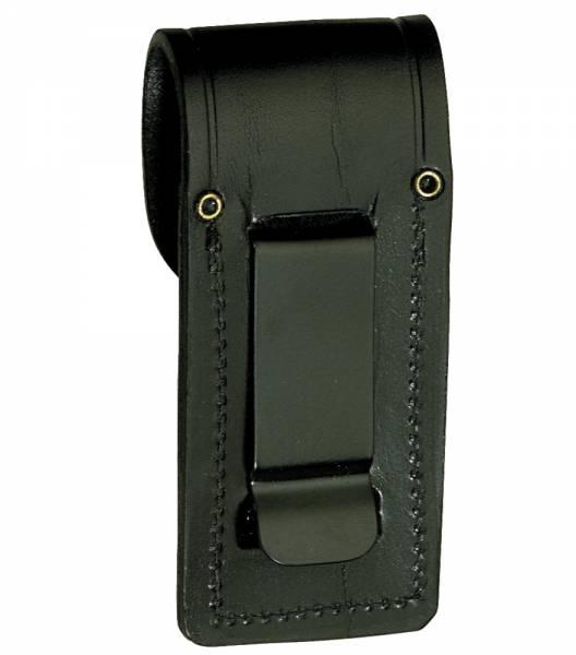 Leder-Holster mit Gürtelclip, für Messer bis 11 cm Länge