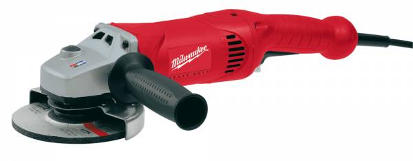 Milwaukee Winkelschleifer AG 13-125 X, ergonomisches Design