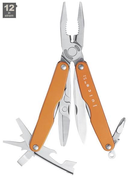 Leatherman JUICE® S2, Flame-Orange, 12 Tools
