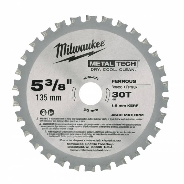 Milwaukee Handkreissägeblatt Metall
