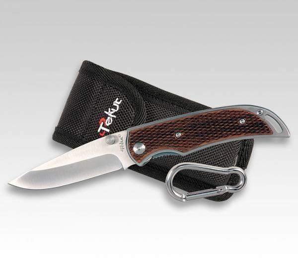 TEKUT HESTIA Taschenmesser mit Holz-Griffschalen