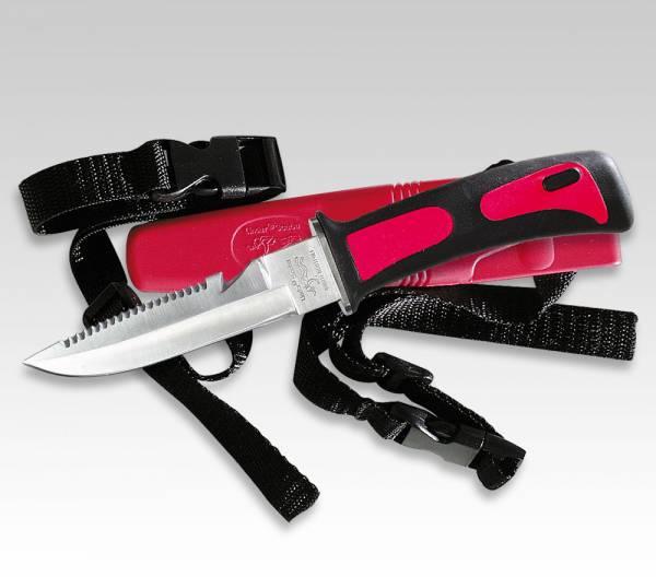 Linder SCUBA Diving Knife, Blade 11 cm