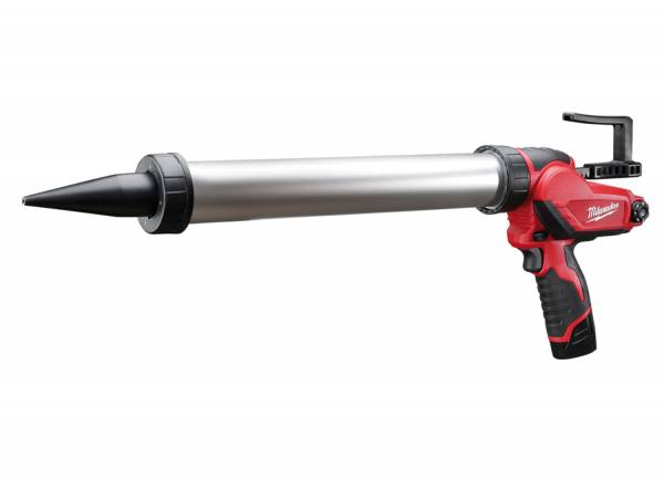 Milwaukee caulking gun with M12-volt battery for 600 ml foil pouch