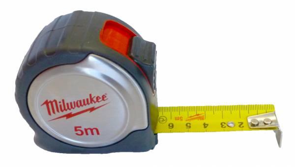 Milwaukee kompaktes Bandmaß Länge 5 m